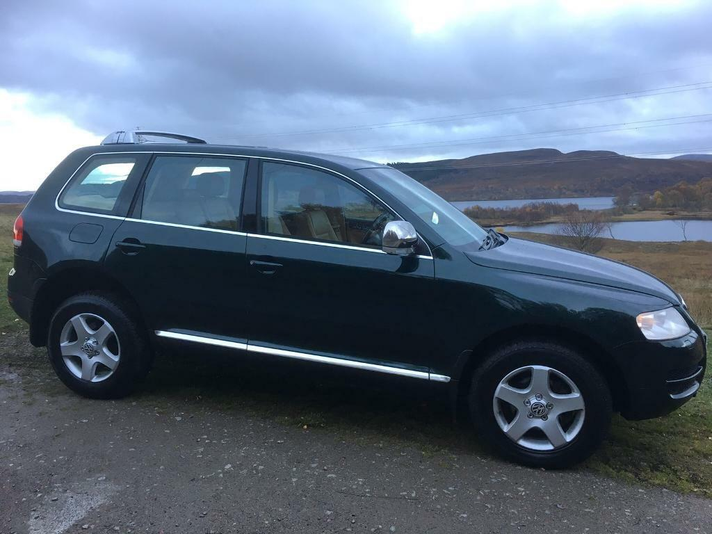 volkswagen touareg 4x4 diesel jeep in inverness highland gumtree. Black Bedroom Furniture Sets. Home Design Ideas