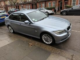BMW 3 Series in blue with Service history and low mileage AUTOMATIC