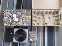 DJ Hero set for Playstation 3