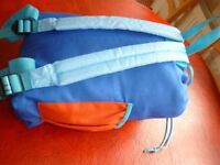 child's sleeping bag in a bag