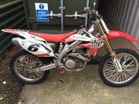 06 CRF 450 FOR SALE OR SWAP