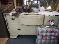 LOW painted chest of drawers