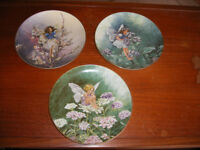"Ornamental ""Flower Fairy"" Plates by Villeroy & Boch. Limited Edition. Made in Bavaria."