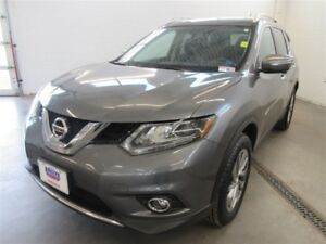 2015 Nissan Rogue SL! AWD! B-UP CAM! ALLOYS! NAV! HEATED! LEATHE