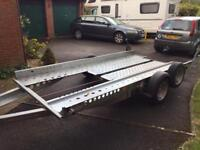 Ifor Williams Car transporter As New
