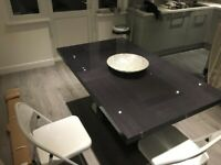 Italian Extending Dining table + chairs | RRP £2,000 (ALF St Moritz Extending Dining Table)