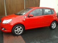Cheverolet Aveo 5 Door Hatchback