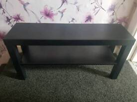 Small black table/tv stand