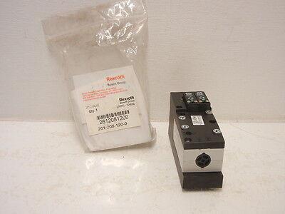 Rexroth Bosch 261-208-120-0 New 261-2 Pneumatic Valve 2612081200