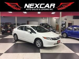 2012 Honda Civic LX 5 SPEED A/C CRUISE CONTROL ONLY 122K