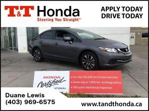 2015 Honda Civic EX *Rear Ca,era, Sunroof, Bluetooth*