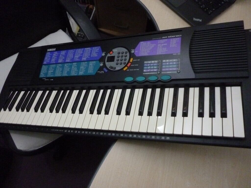 yamaha psr185 full size light weight digital keyboard,hundreds of  voices,styles etc  stanmore,middx  | in Harrow, London | Gumtree