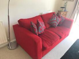 DFS Red Sofa
