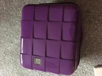 Purple beauty travel case