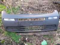 Vauxhall Vivaro front bumper with lights