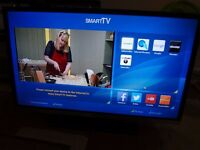 JVC 32 INCH SMART LED WIFI TV WITH BUILT IN DVD PLAYER (LT32C655)