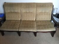 3 seater couch and armchair for sale