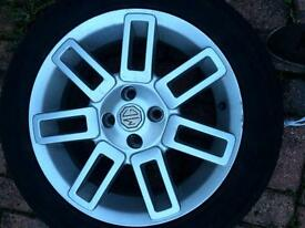 "Mg zr 16"" alloys good tires"