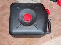23 L waste water container with side cap