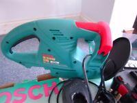bosch AHS 52 battery powered hedge trimmer