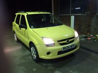 2004 (04) SUZUKI IGNIS 1.3 5DR ESTATE,PETROL,MOT,S/HISTORY,ECONOMICAL,GOOD CONDITION,BARGAIN
