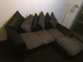 Coner settee and stand
