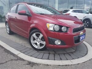 2012 Chevrolet Sonic LT - SUNROOF, VERY SPACIOUS, TINTED WINDOWS