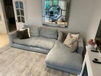 3 + sofa with left hand chaise