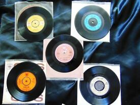 "VINYL 7"" Single records from the 60's & 70's MINT CONDITION RARE !! LOT 3 of 4"