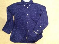 H&M boys long sleeved shirt age 4-5 very good condition