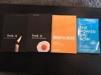 Mindfulness books - Great price like new - value £40