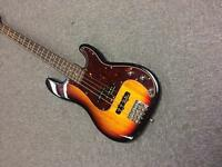 Squier fender(ish) p j bass with upgrades