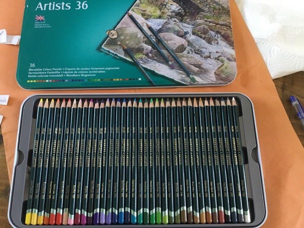 Derwent Artists Pencils 36 Tin