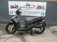 HONDA VISION 110 BLACK 2014 LOW MILEAGE