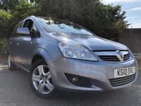 Vauxhall Zafira 7 Seater 2010 Full Years Mot No Advisorys Full Service History Cheap To Insure !!