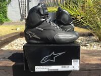 Alpinestairs faster boots waterproof