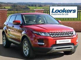 Land Rover Range Rover Evoque SD4 PURE TECH (red) 2012-09-06