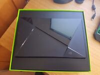 NVIDIA SHIELD CONSOLE 16GB TV ANDROID BOX GAMING CONSOLE. WITH CONTROLLER.