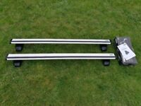 Thule Wingbar Roof Bars for Audi A4 B8 Saloon