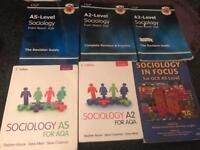 Sociology AS level and A2 level books