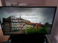 "42"" polaroid flat screen lcd television"
