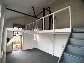 Commercial Creative space / Artist Studio, Hackney Wick, E3