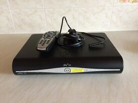 Sky+ HD box with original remote and power lead