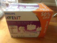Phillips Avent Baby feeding set