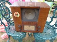 Vintage HMV Valve Radio