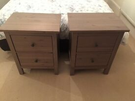 Two Bedside Tables - used