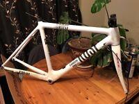 Rose CRS4400 Carbon Road Bike Frame (51cm) & Cannondale Forks. Also includes original Rose forks.