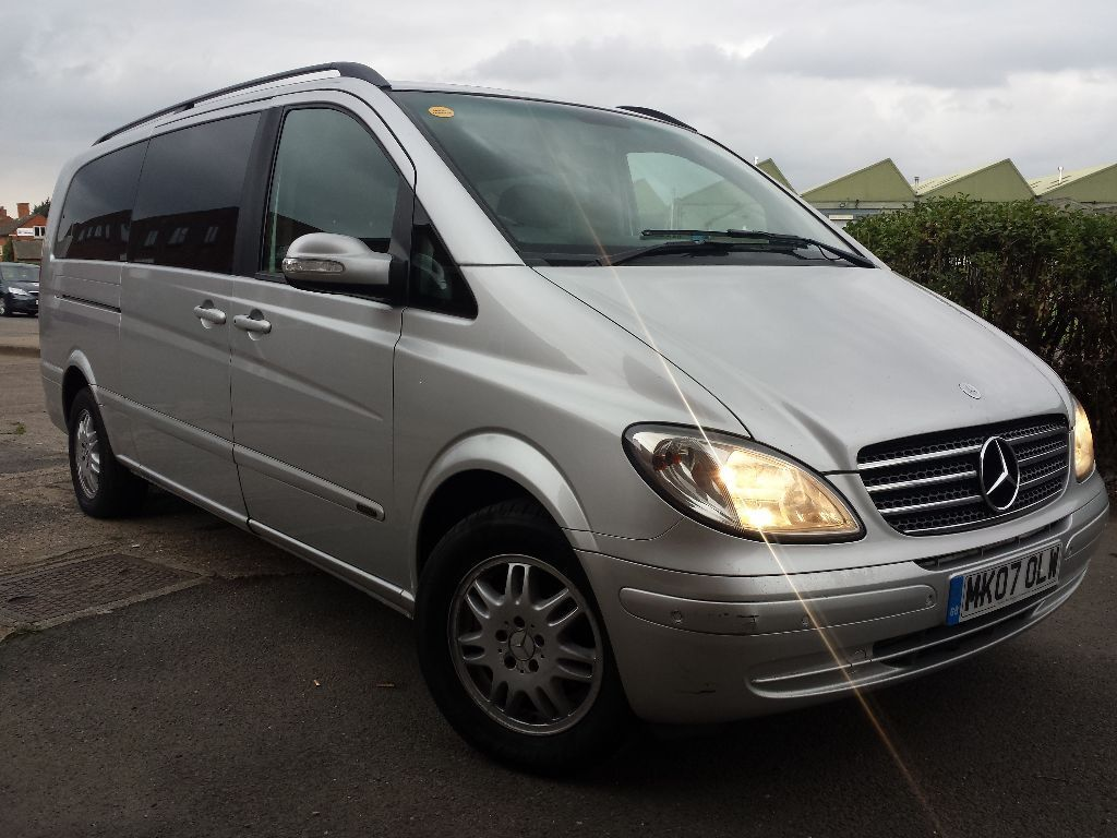 2007 mercedes benz viano 2 2 cdi 8 seater diesel auto for Mercedes benz 2 seater