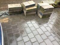 18 unused concrete blocks surplus to job.
