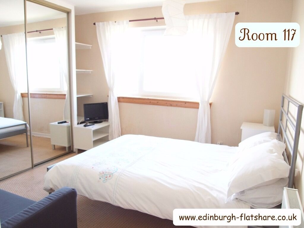 Edinburgh Flatshare R 117 - Gorgeous Double Room - ALL BILLS INCLUDED IN MONTHLY RENT